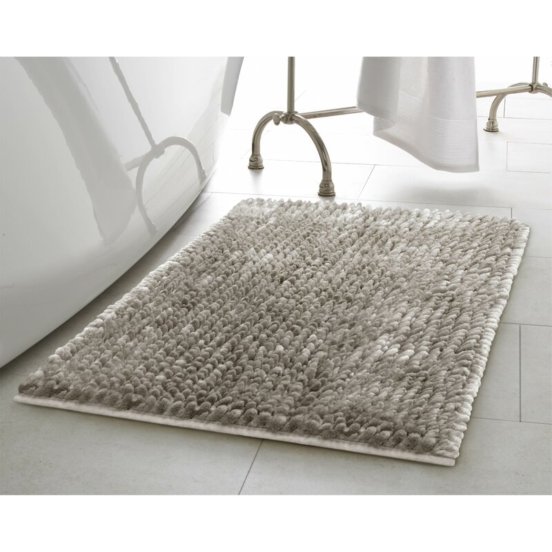 bathroom rug set. 2 Piece Butter Chenille Bath Rug Set Laura Ashley Home  Reviews