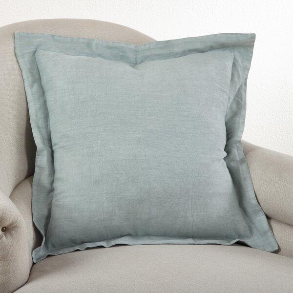 Saro Tabitha Linen Throw Pillow Amp Reviews Wayfair