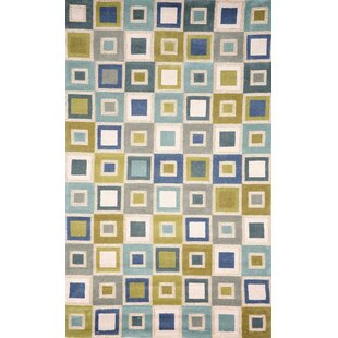 Nelda Squares Indoor Outdoor Rug By Ebern Designs
