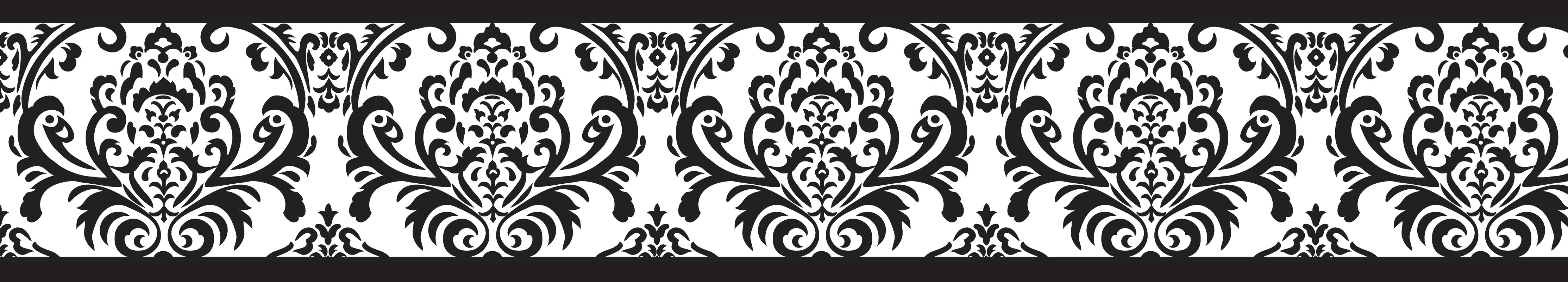 sweet jojo designs isabella 15 x 6quot damask border