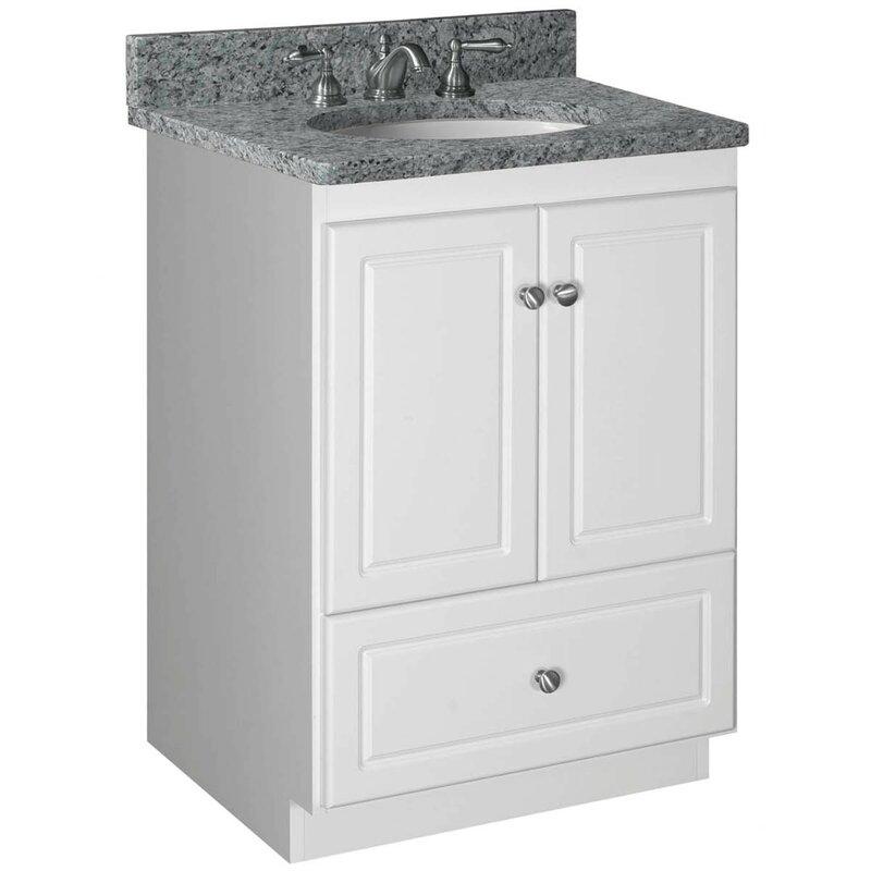 Strasser Woodenworks Simplicity Bathroom Vanity Base Reviews - 24 bathroom vanity with drawers
