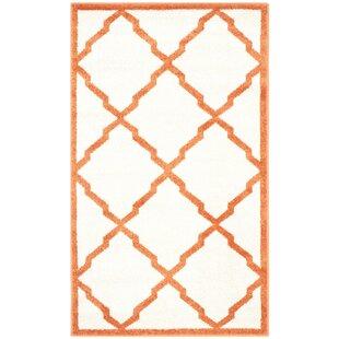 Sloane Beige/Orange Rug by Metro Lane
