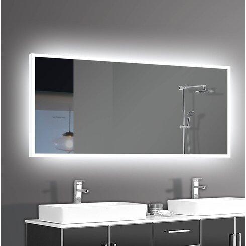 Orren Ellis Alcalde LED Bathroom/Vanity Mirror | Wayfair