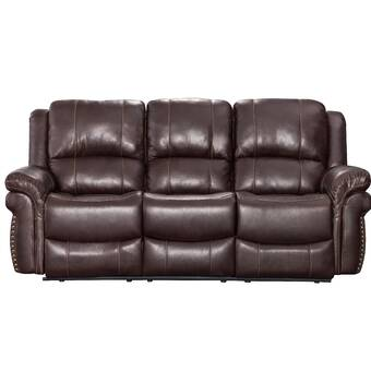 Catnapper Messina Leather Reclining Sofa | Wayfair