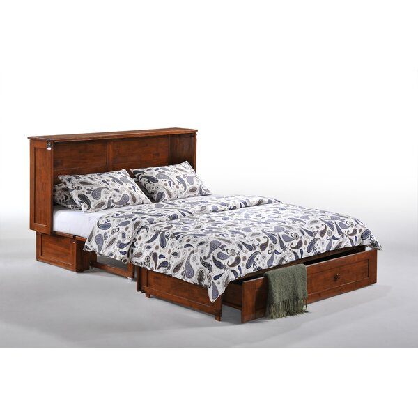 Night Amp Day Clover Queen Storage Murphy Bed With Mattress