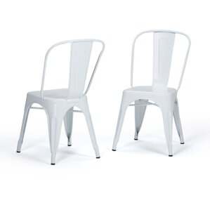 Fletcher Metal Dining Chair (Set of 2) by Simpli Home