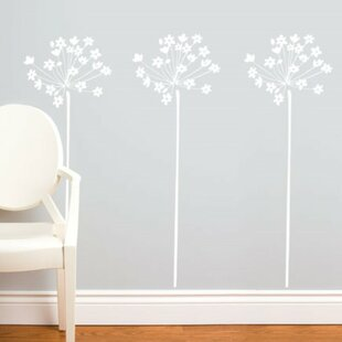 Modern contemporary white flower wall art allmodern save mightylinksfo
