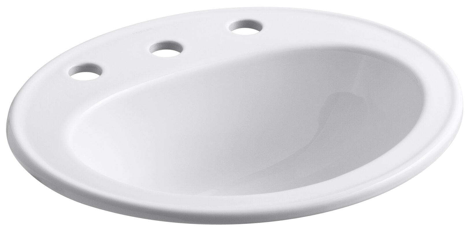 Kohler Pennington Ceramic Oval Drop In Bathroom Sink With Overflow Reviews