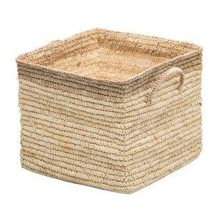 Square Wicker Storage Basket