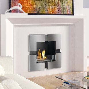 Tokyo Recessed Ventless Wall Mounted Ethanol Fireplace