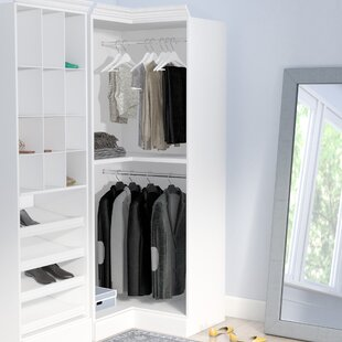 White Closet Systems Youu0027ll Love | Wayfair