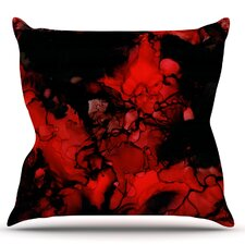 Vesuvius by Claire Day Throw Pillow