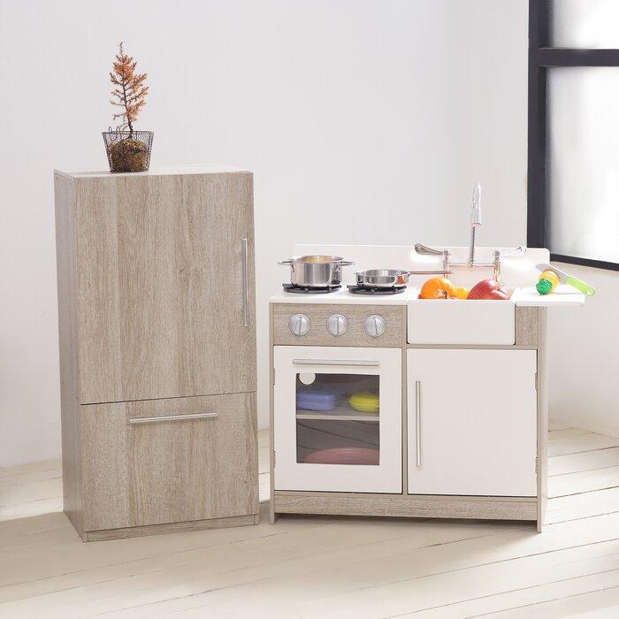 Teamson Kids 2 Piece Soho Big Play Kitchen Set Reviews Wayfair Ca