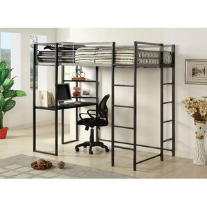 bunk bed with office underneath. roc loft bed bunk with office underneath