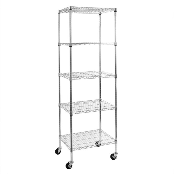4 tier ultrazinc nsf steel wire shelving 18 d x 36 w x 72 h