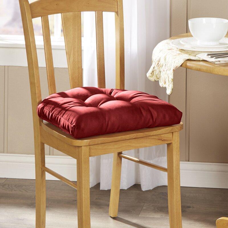 Wayfair Basics™ Wayfair Basics Dining Chair Cushion ...