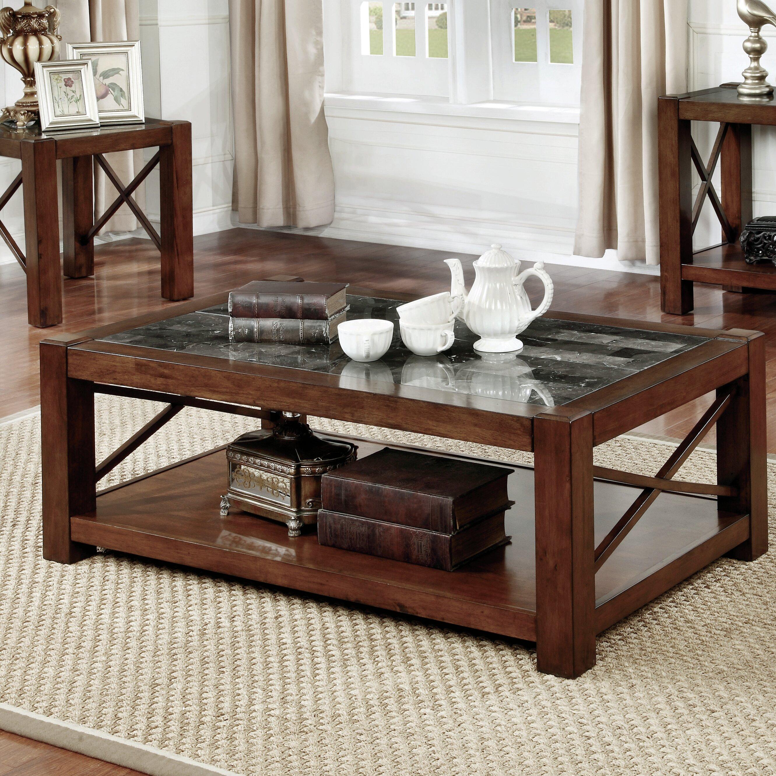 Red Barrel Studio Brandenburg Transitional Coffee Table Reviews  ~ Transitional Sofa Tables