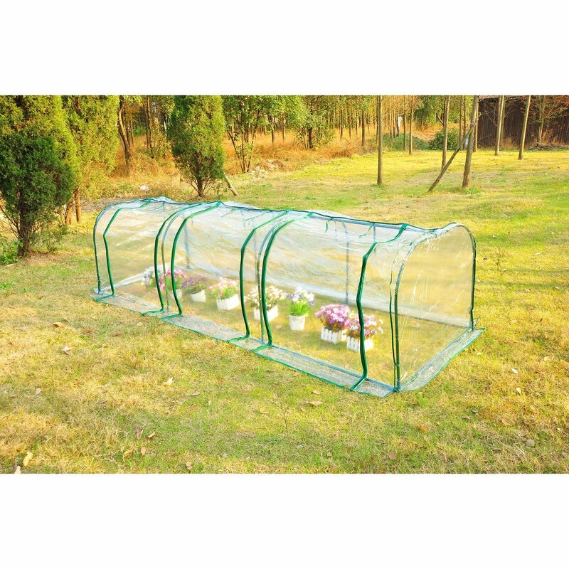 Sechrist 3m W x 1m D Poly Tunnel Greenhouse