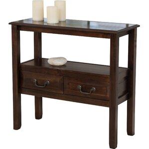 bockman acacia console table