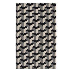 Paloma Handmade Black/Gray Area Rug