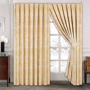 gardinen vorh nge muster damast. Black Bedroom Furniture Sets. Home Design Ideas