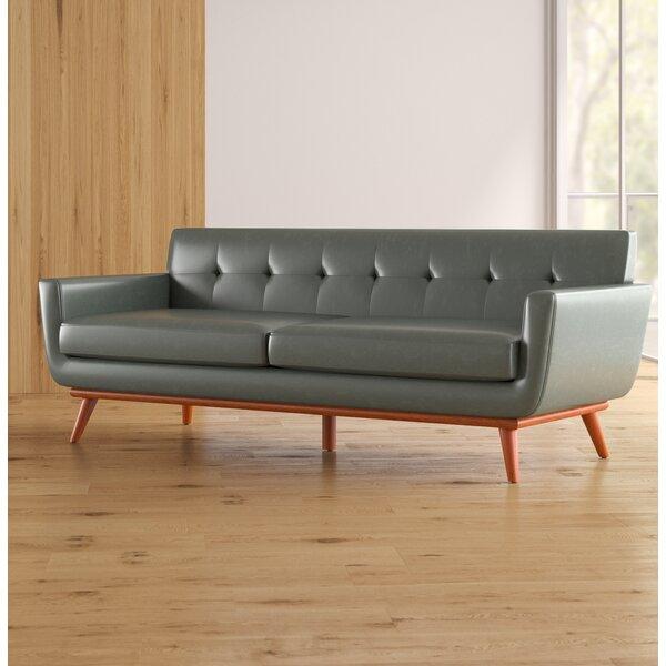 Sectional Sofas For Sale In Huntsville Al: Corrigan Studio Huntsville Leather Sofa & Reviews