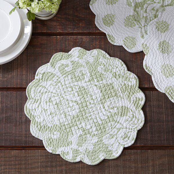 Round Quilted Placemats Wayfair