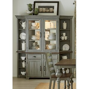 Serpentaire Lighted China Cabinet by Lark Manor