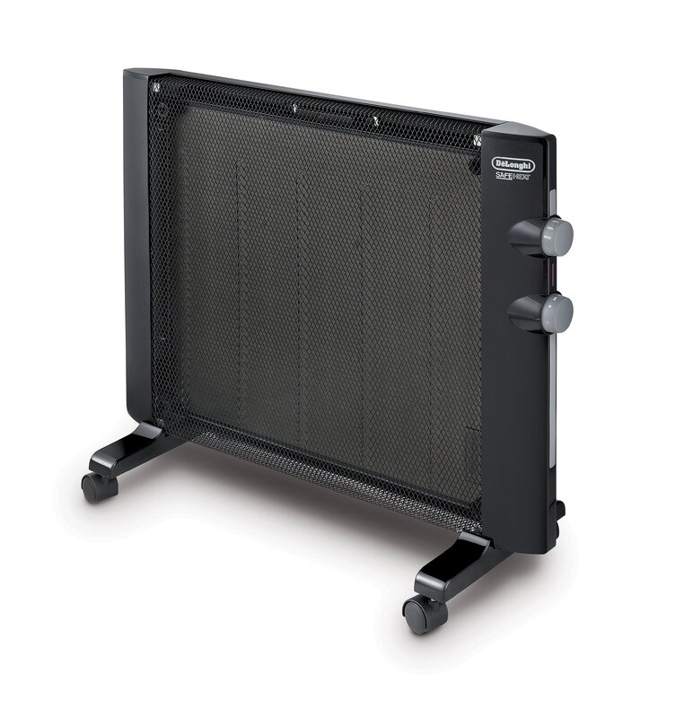 Mica 1,500 Watt Portable Electric Radiant Panel Heater with Adjustable Thermostat