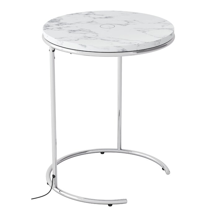 charging end table. Shryock Wireless Charging End Table E