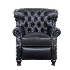 Keleigh Leather Manual Recliner  sc 1 st  Wayfair & Wing Chair Recliners Youu0027ll Love | Wayfair islam-shia.org