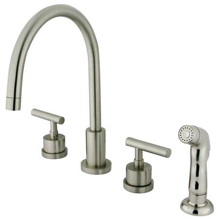 Kingston Manhattan Double Handle Kitchen Faucet