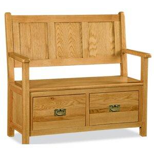 Garderobenbank mit Stauraum aus Holz von Hazelwood Home