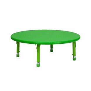 Height Adjustable Round Table | Wayfair