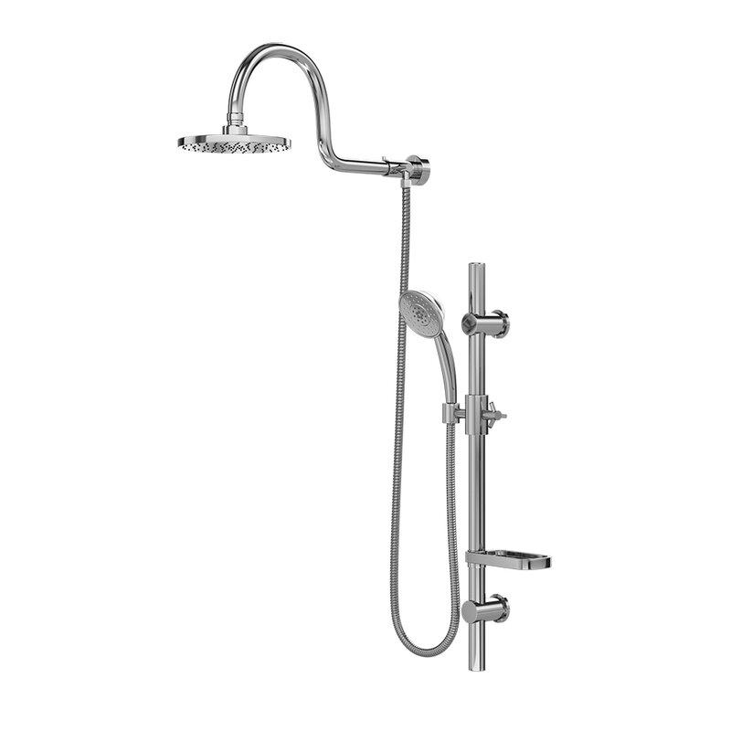 Pulse Shower Spas Aqua Rain Diverter Complete Shower System ...
