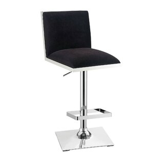 Abbigail Adjustable Height Swivel Bar Stool