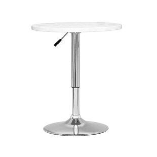 Decicco Adjustable Height Pub Table