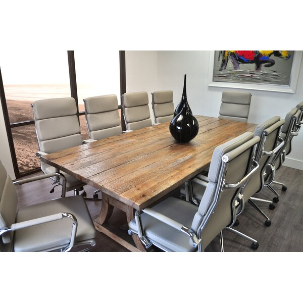 solispatio 11 piece ligna 8 39 rectangular conference table set reviews wayfair. Black Bedroom Furniture Sets. Home Design Ideas