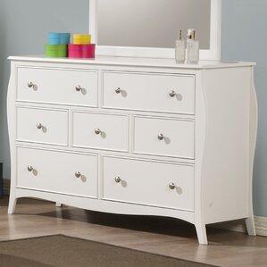 Chloe 7 Drawer Dresser by Viv + Rae