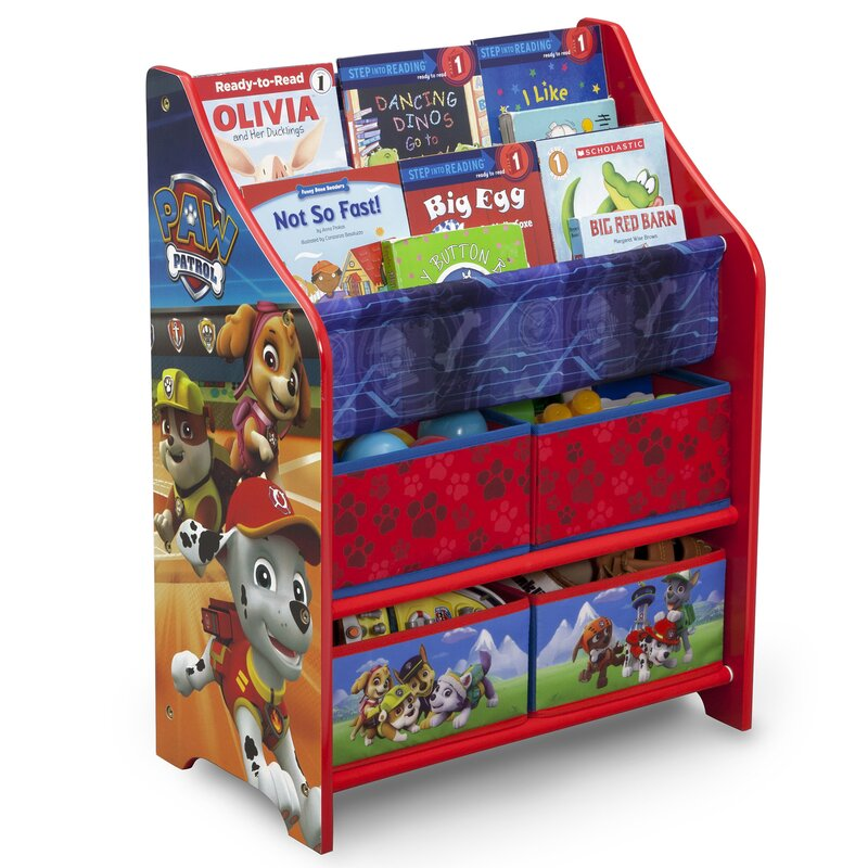 Nick Jr  PAW Patrol Toy Organizer