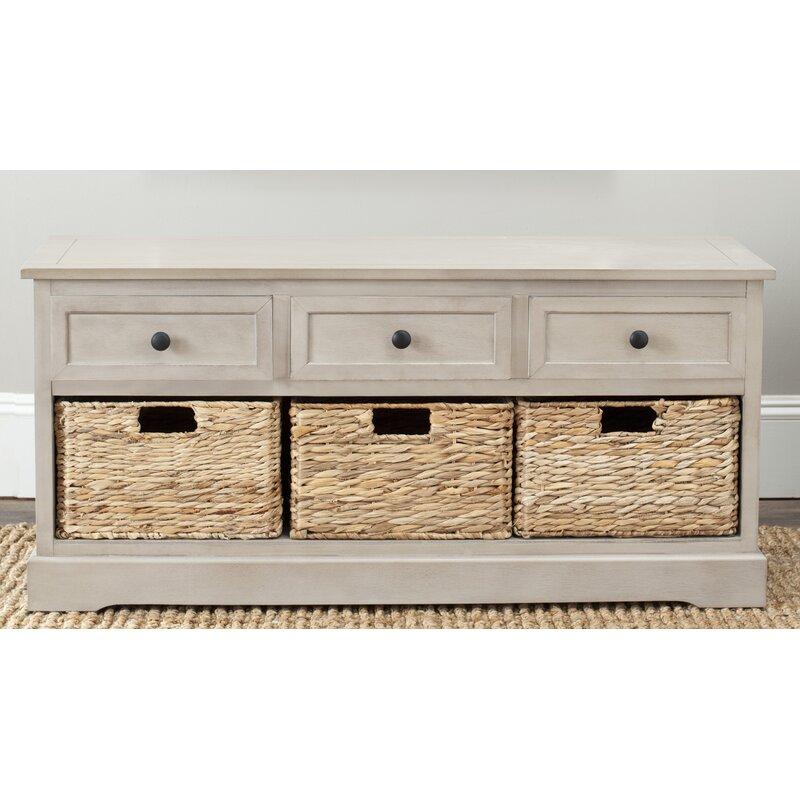 Beachcrest Home Mckinley Storage Bench Reviews Wayfair