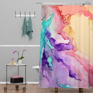 Rosie Brown Color My World Single Shower Curtain