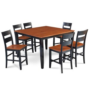 Charlestown 7 Piece Counter Height Dining Set by Alcott Hill