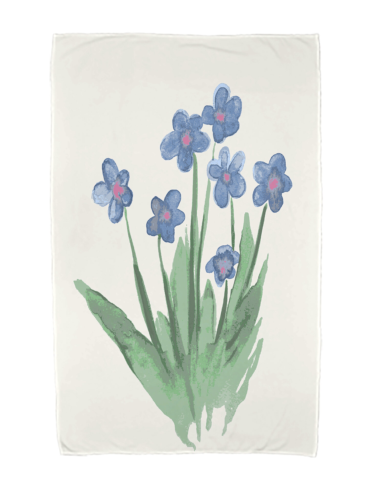 Gracie Oaks Monroe Pretty Little Flower Beach Towel Wayfair