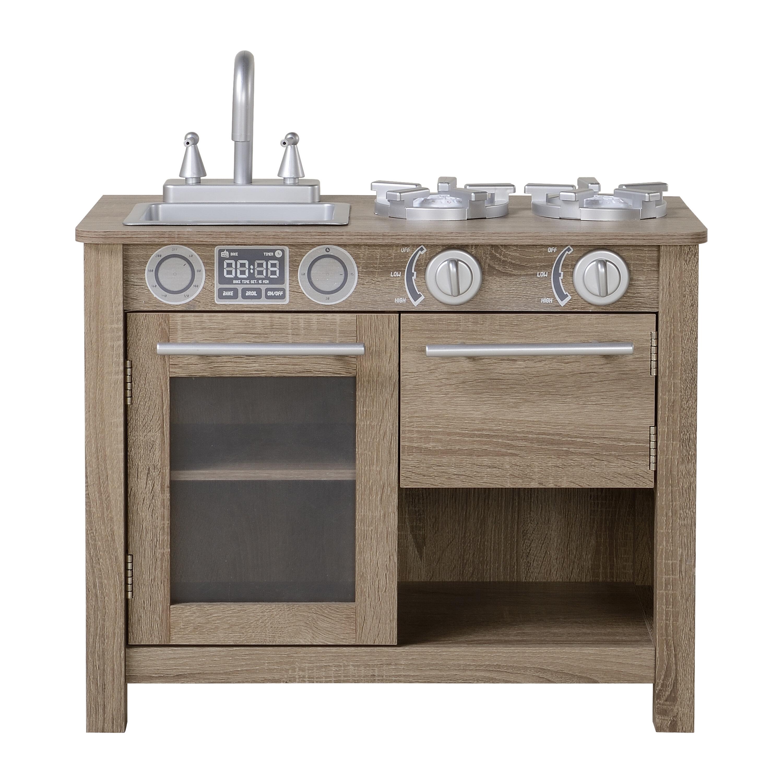 Homestar Coco And Michelle Wooden Play Kitchen Wayfair