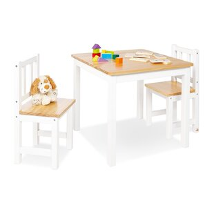Fenna 3 Piece Writing Table Set by Pinolino