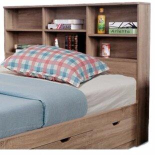 king headboard shelves wayfair