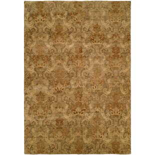 Seattle Hand Knotted Beige Area Rug