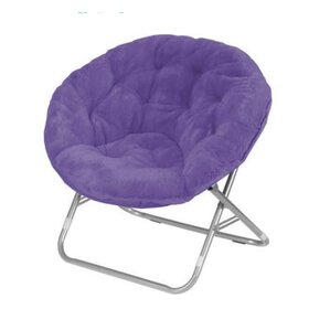 Kathrine Faux Fur Papasan Chair