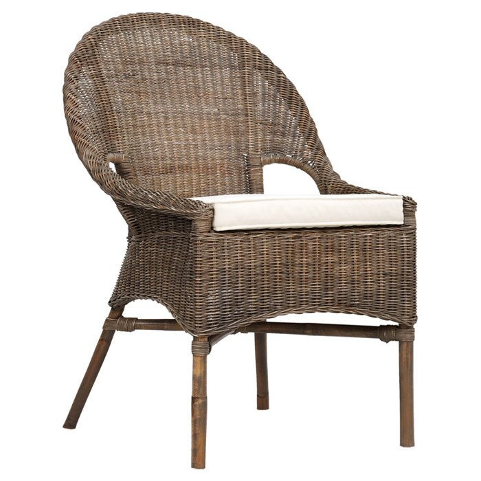 Amanda Rattan Accent Chair